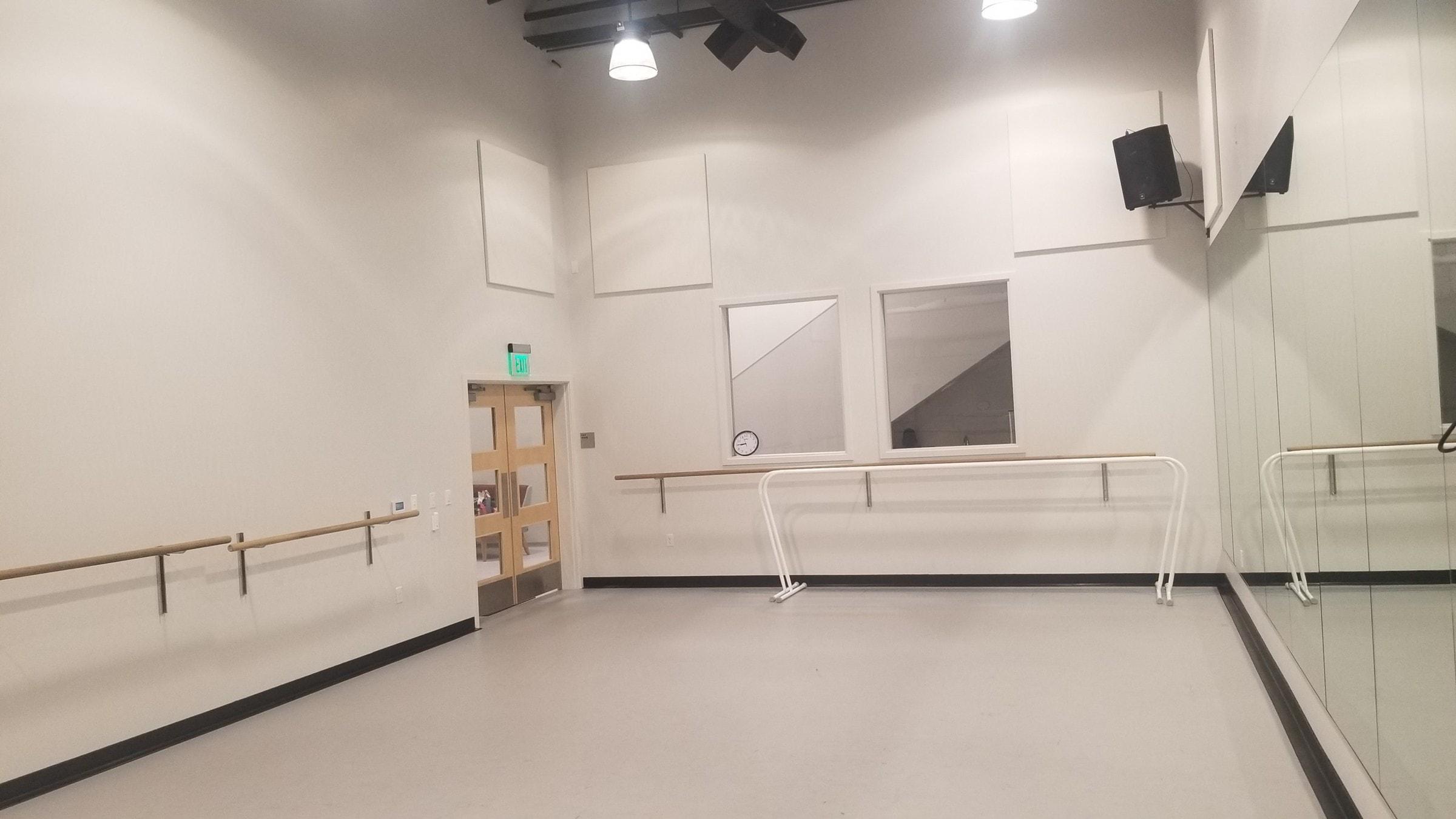 small dance floor