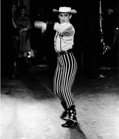 Michael Smuin performs in Billy the Kid