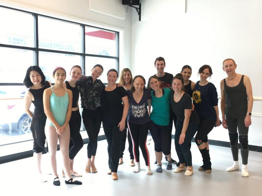 Dance studio group